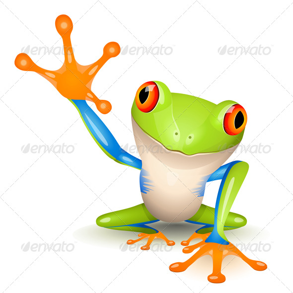 GraphicRiver Little Tree Frog 141997