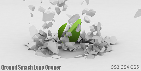 After Effects Project - VideoHive Ground Smash Logo Opener 1157802