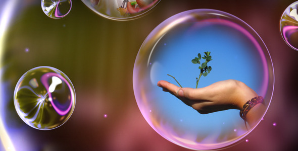 After Effects Project - VideoHive Bubbles Time 1129083