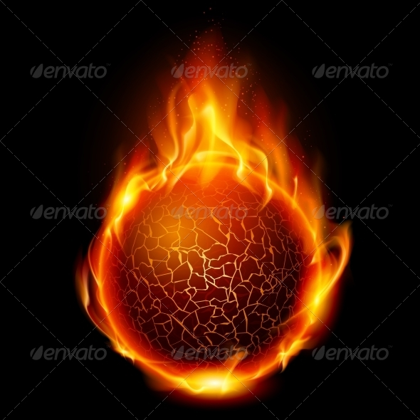 GraphicRiver Fire Ball 1162997