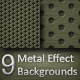 Metal Effect Background Pack - GraphicRiver Item for Sale