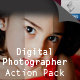 Digital photographer action pack  - GraphicRiver Item for Sale