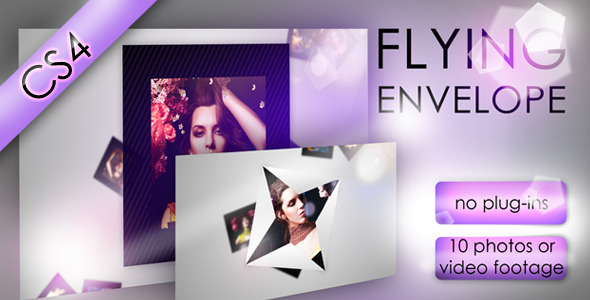 After Effects Project - VideoHive Flying envelope 1173310