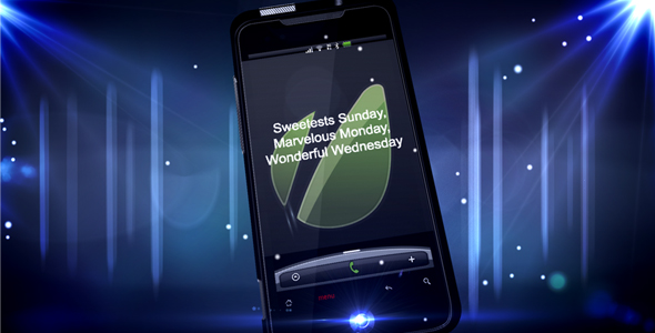 After Effects Project - VideoHive Mobile New Year CS3 143805