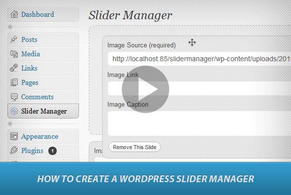 TutsPlus Create a Universal Slider Manager in WordPress 143854