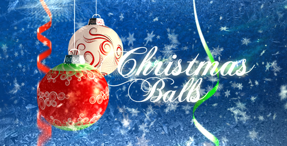 After Effects Project - VideoHive Christmas balls 143910