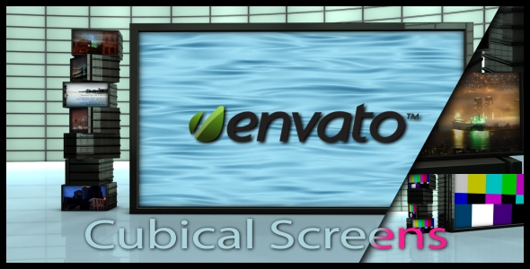 After Effects Project - VideoHive Cubcal Screens 143954