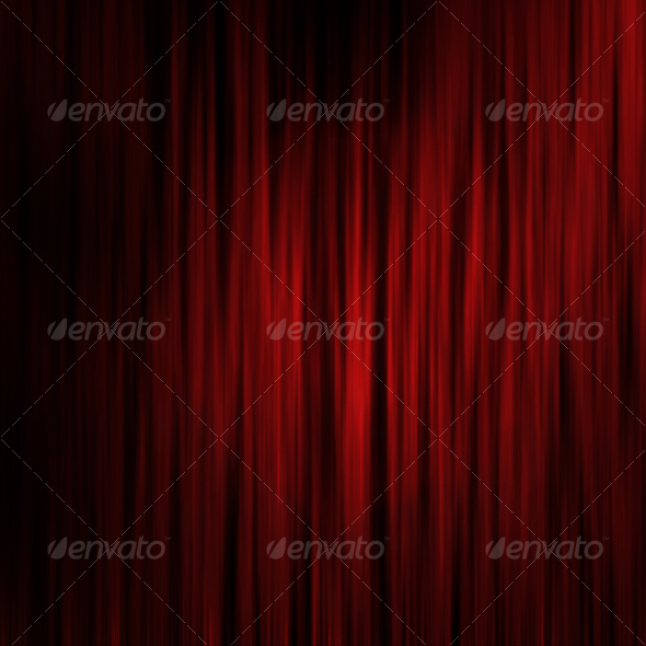 GraphicRiver Theater Curtains effect background 47643