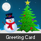 Winter Holidays Greeting Card - ActiveDen Item for Sale