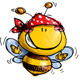 Bee Happy - GraphicRiver Item for Sale