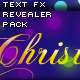 Text FX Revealer Pack - ActiveDen Item for Sale