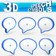 Speech or chat symbols - GraphicRiver Item for Sale