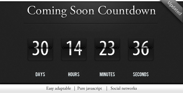 Codecanyon - Countdown / construction pagw