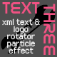 TextThree-text and logo rotator-particle effect - ActiveDen Item for Sale