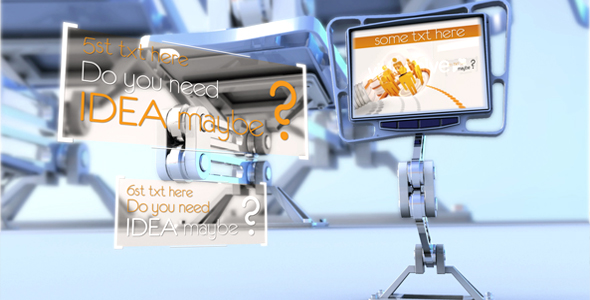 After Effects Project - VideoHive Mechanical Displays 145256