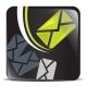 Lime and black IT icons - GraphicRiver Item for Sale