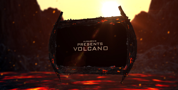 After Effects Project - VideoHive Volcano 145619