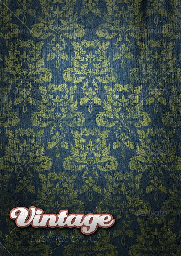 GraphicRiver Vintage Wallpaper 09 146001