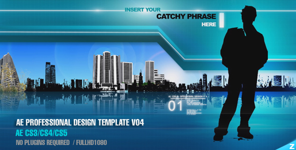 After Effects Project - VideoHive AE CS3 Professional Design Template V04 66108