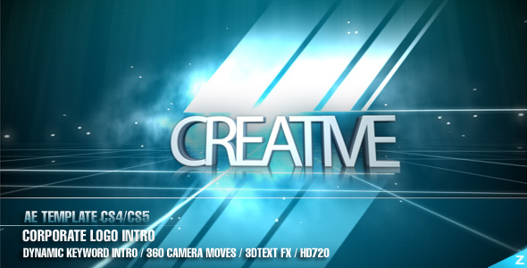 After Effects Project - VideoHive AE CS4 Corporate Logo Intro 120894