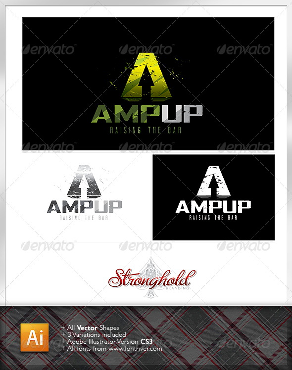 GraphicRiver Amp Energy Logo 1187492
