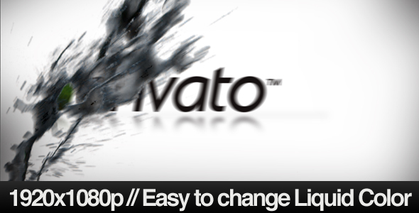 After Effects Project - VideoHive Flying Liquid Logo Reveal 146086