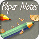 Paper Notes Portfolio Template - ThemeForest Item for Sale