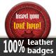 Leather Badges - GraphicRiver Item for Sale