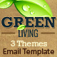Green Environment HTML Email Template (3 Themes) - ThemeForest Item for Sale