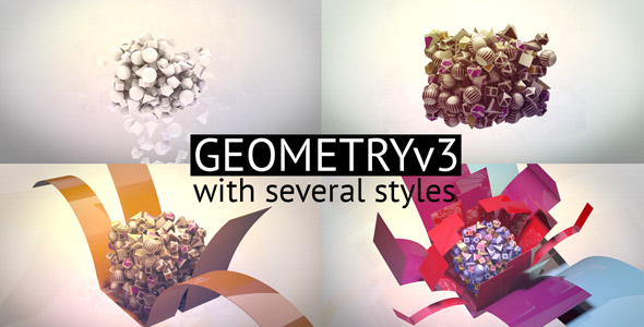 After Effects Project - VideoHive Geometric 3 145724