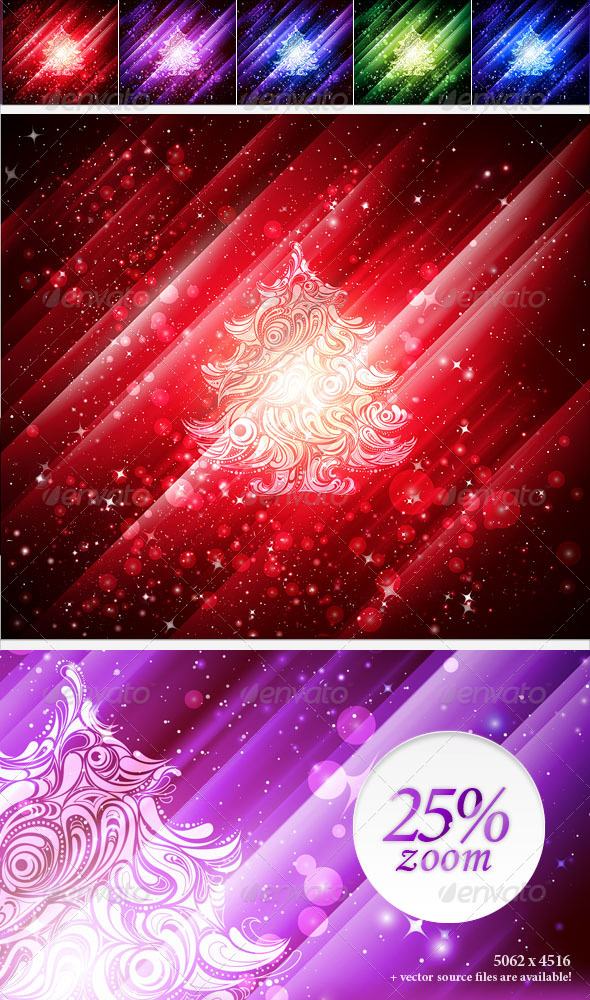 GraphicRiver Christmas Backgrounds 147146