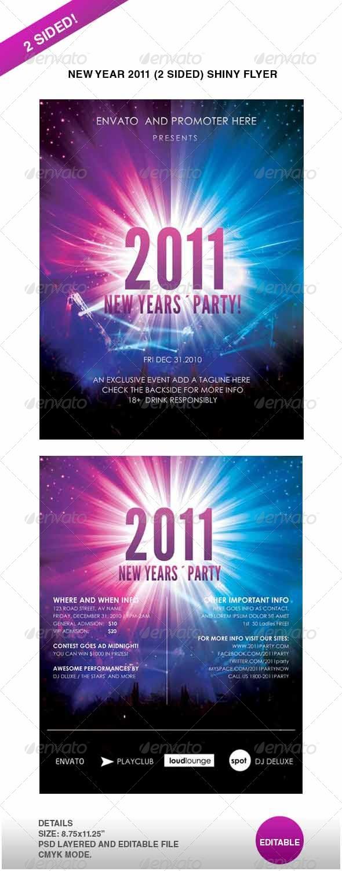 GraphicRiver Ney Year 2011 Shiny flyer 147300