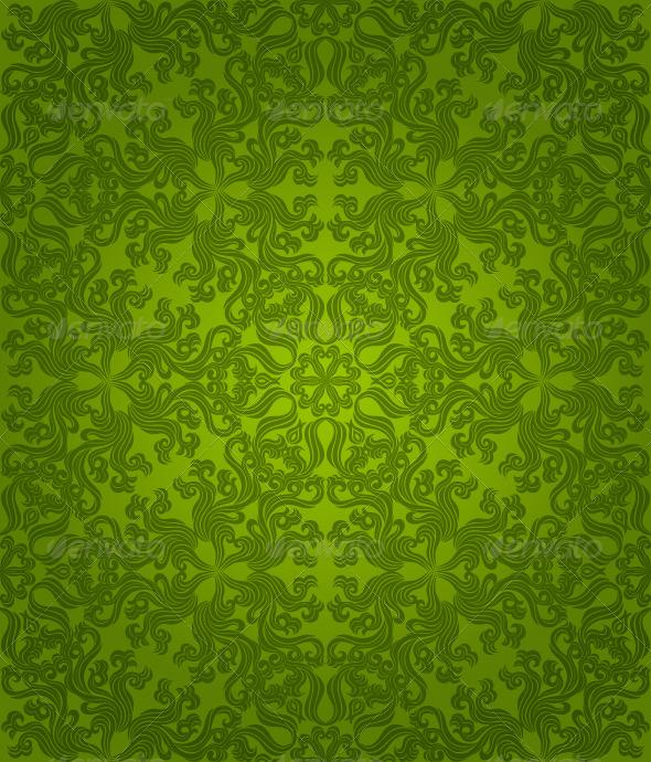 Graphic River Seamless floral pattern Vectors -  Decorative  Patterns 147862