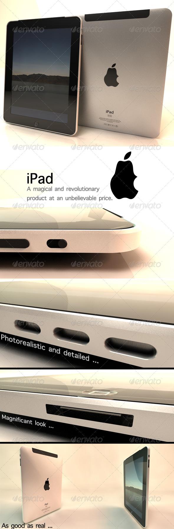 3DOcean iPad 148073