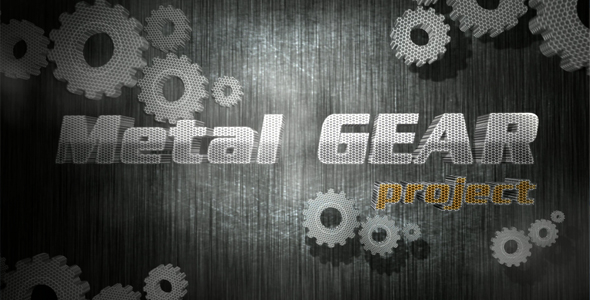 After Effects Project - VideoHive Metl Gear project 148133
