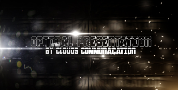 After Effects Project - VideoHive Optical Presentation 148239
