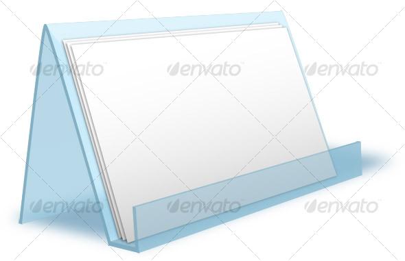GraphicRiver Card Holder Mockup 33381