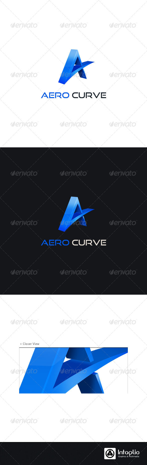 GraphicRiver Letter A Logo Template 1221192
