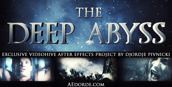 After Effects Project - VideoHive The Deep Abyss Cinematic Trailer 1223469