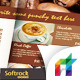Cafe Menu Indesign Template - GraphicRiver Item for Sale