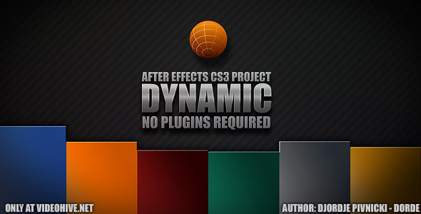 After Effects Project - VideoHive Dynamic 149059