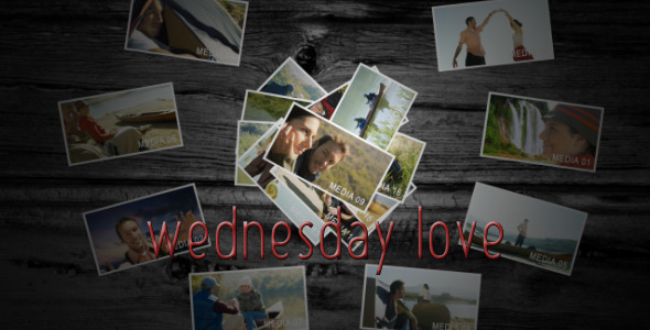 After Effects Project - VideoHive Wednesday Love 160601