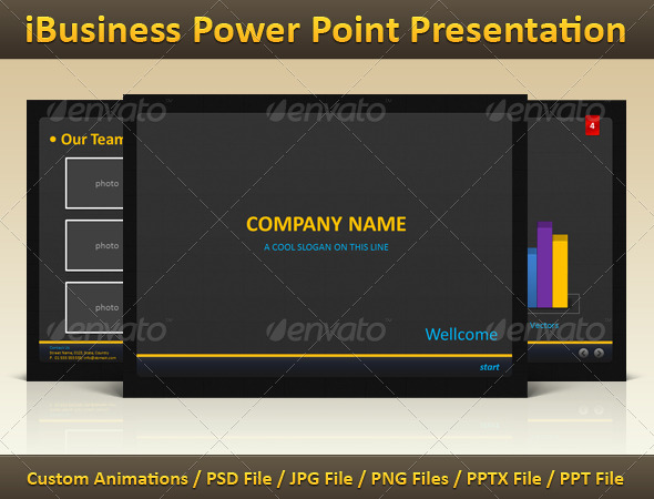 GraphicRiver iBusiness Power Point Presentation 114052