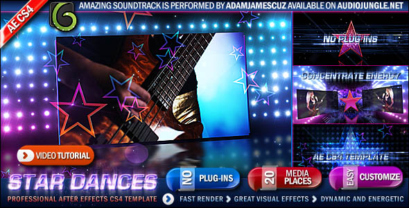After Effects Project - VideoHive Star Dances Promo 149478