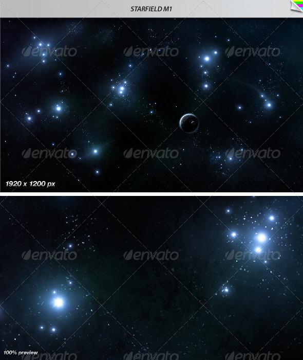 GraphicRiver Starfield M1 135342