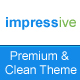 impressive - premium portfolio + business + blog - ThemeForest Item for Sale