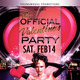 Official Valentine's Party - GraphicRiver Item for Sale