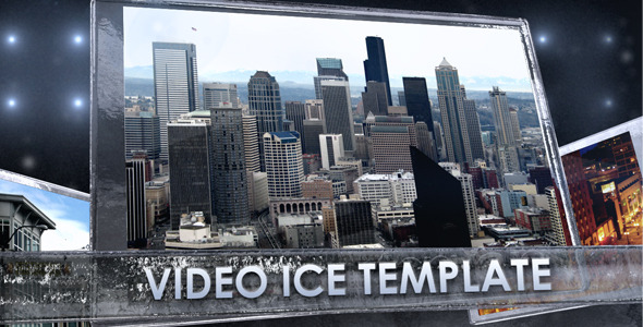 After Effects Project - VideoHive Ice Video Board Display 1181430