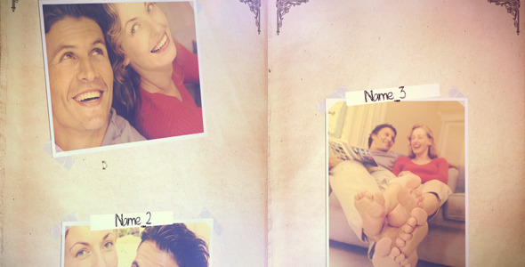 After Effects Project - VideoHive Romantic Photo Album 1243482