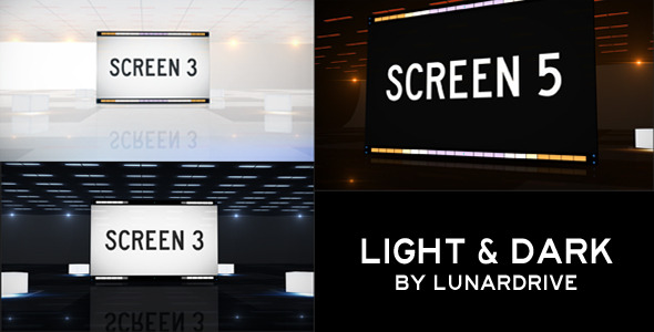 After Effects Project - VideoHive Light & Dark Room 1243575